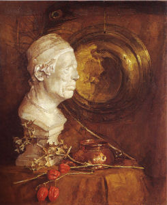 Mondrian A261 Still Life with Plaster Bust, 1902-03