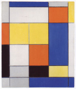 Mondrian B106 Composition B, 1920