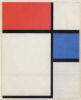 Mondrian, Composition with Blue and Red, 1929