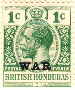 British Honduras 1916 SG114 Sc-MR1