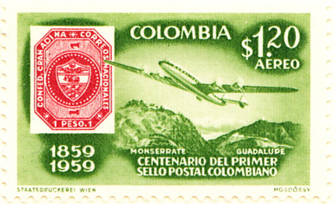 Colombia SG989 Sc709