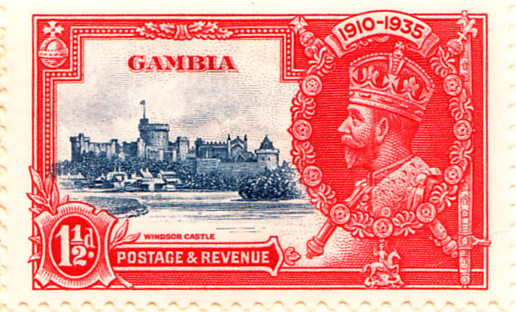 Gambia SG143 Sc125