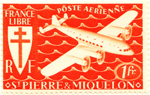 St. Pierre and Miquelon 1942 SG336 Sc-C1