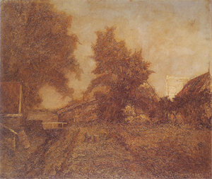 Mondrian A20 Warmte (Warmth): Farm in the Achterhoek, c.1893-94