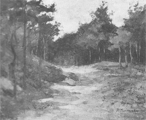 Mondrian A48 Wood near Driebergen, c.1896-97